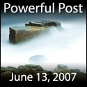 Powerful Post Award - June 13, 2007