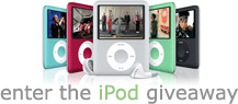 free ipod giveaway
