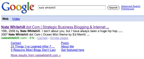google authority listing nate whitehill